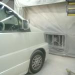 全面塗装後の乾燥